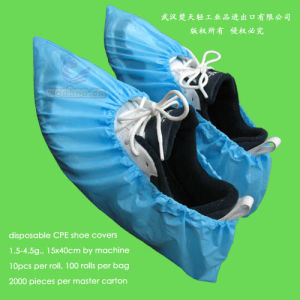 Disposable Poly Overshoes pictures & photos