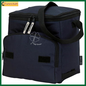 Polyester Picnic Insulated Thermal Lunch Cooler Bag for Bottle and Picnic (TP-CB224) pictures & photos