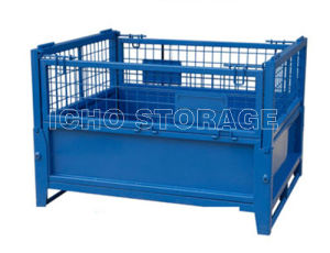 Customized Folded Wire Mesh Storage Cage with Heavy Load pictures & photos
