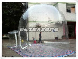 Popular Inflatable Lawn Tent Transparent Inflatable Lodge