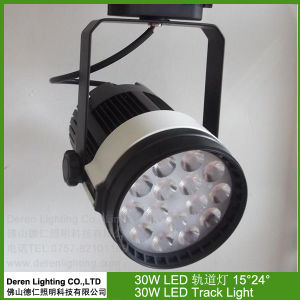 30W LED Spotlight Track Mounted CREE Osram Chips