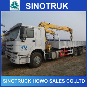 HOWO 6X4 10 Ton Hydraulic Telescopic Boom Truck Mounted Crane pictures & photos
