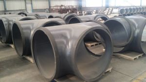 ASME B16.9 Carbon Steel Tee in Pipe Fitting pictures & photos