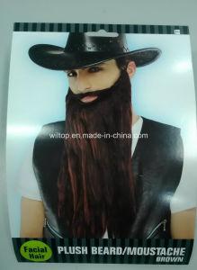 Plush Party Brown Beard&Moustaches (BA005) pictures & photos
