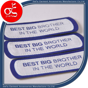 Profession Decorative Custom Brand Fabric Woven Patch for T-Shirt pictures & photos