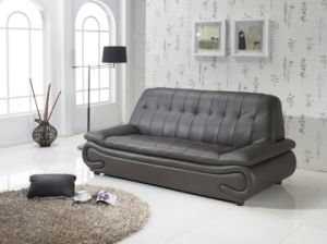 Best-Selling Modern Living Room 1+2+3 Leather Sofa pictures & photos