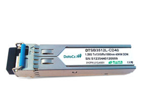 SFP 1.25g 1310/1550nm (1550/1310nm) 80km Transceiver pictures & photos