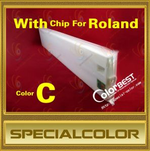 Color C 440ml Ink Tank with Chip for Roland Printer pictures & photos