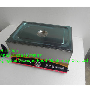 Gas Fryer for Spiral Potato /Tornado Potato Fryer pictures & photos