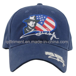 Popular Cotton Twill Embroidery Sport Baseball Hat Cap (TMB8993-1) pictures & photos