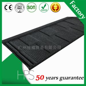 50 Years Warranty Color Coated Steel Sheet Shingle Tile in Nigeria pictures & photos