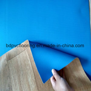 Hardly Tear PVC Flooring, 1.5mm PVC Plastic Durable Commercial Flooring pictures & photos
