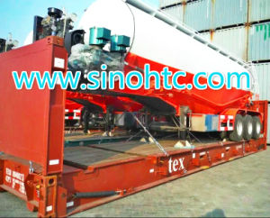 45m3 Bulk Cement Silo Tanker Semi Truck Trailer (HTC9405GFL) pictures & photos