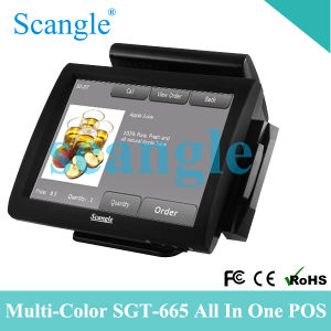 Touch Screen POS System with Customer Display pictures & photos