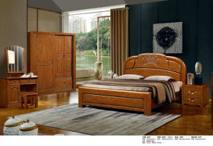 Wooden Hotel Bed, Best Bedroom Furniture Set, China Bed (828) pictures & photos
