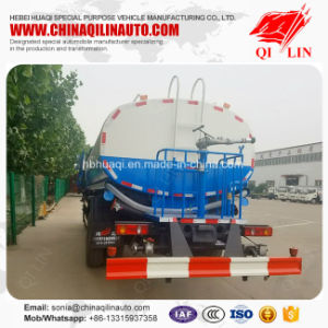 Widely Used 13cbm Water Tank Truck with Rear Sprinkler Gun pictures & photos