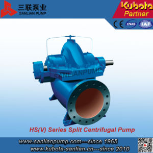 Horizontal Split Casing Cetrifugal Pump--Sanlian/Kubota pictures & photos