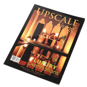 Beautiful Soft-Cover Travel Brochures Printing pictures & photos