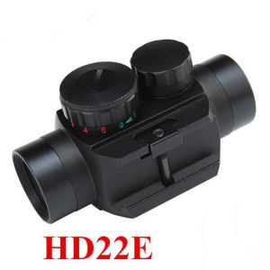 Riflescopes 1X22 Dual Illuminated Red DOT Scope Sight with Narrow Gauge for Hunting Rifle Scopes pictures & photos