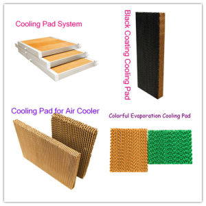 Colorful Evaporative Cooling Pads pictures & photos