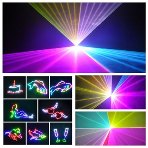 Christmas Decorative DJ Disco 5W Stage Beam Laser Lighting with Animation pictures & photos