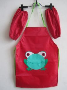 New Custom Children Waterproof Painting Apron pictures & photos