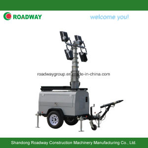 Portable Lighting Tower with LED Lamp pictures & photos