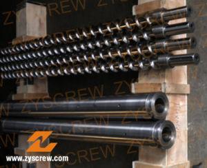 Plastic Recycle Machinery Bimetallic Single Screw (ZYE198) pictures & photos
