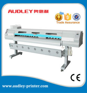Hot Selling 1.8m Sticker and One Way Vision Printing Machine Digital Eco Solvent Printer pictures & photos
