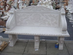 Carving Granite Stone Bench for Outdoor Decoration