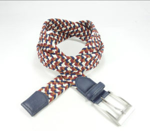 Elastic Braided Belt of Metal Buckle pictures & photos