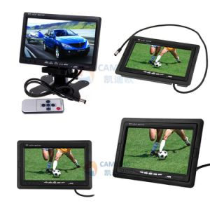 7inch Standalone Car Rear View LCD Monitor with Digital Screen&24V for Big Vehicles Optional pictures & photos