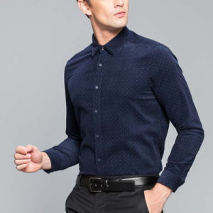 Men Office Uniform Flannel Shirts for Men pictures & photos