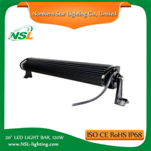 20 Inch 120W Double Row LED Light Bar for ATV Truck off Road Driving with 3 Years Warranty pictures & photos