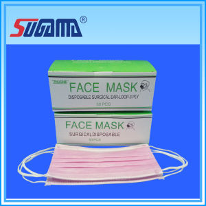 Adult Standard Disposable Non-Woven Face Mask pictures & photos