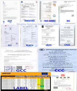 Boto Rubber Radial TBR Truck Tire with Label Certificate pictures & photos