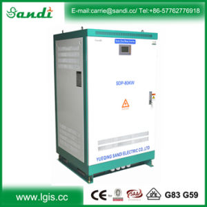 off Grid Inverter 80kw 3 Phase AC 220V/380V with Low Frequency Transformer 100% Full Power Output