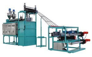 Plastic Square Mesh Production Line (JG-FW) pictures & photos