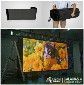 Huasun Galaxias Flexible LED Screen P3 P4 P10 Curved LED Screen pictures & photos