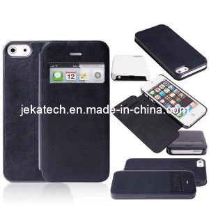 Window Leather Case for iPhone 5s/5 pictures & photos