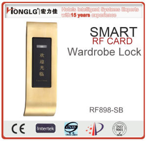 Luxury Battery Powered RF Card Locker Lock (RF898) pictures & photos