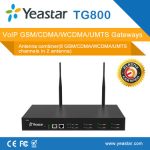 Yeastar 8 GSM Ports SIM Card SMS VoIP GSM Gateway (NeoGate TG800) pictures & photos