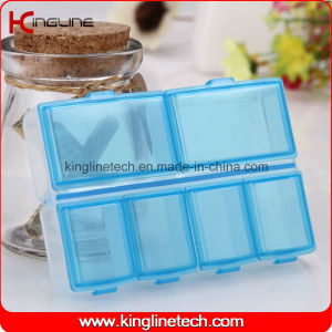 Plastic 6-Cases Pill Box (KL-9112) pictures & photos