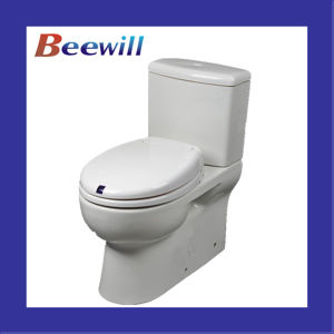 European Electric Automatic Toilet Seat and Cover (Auto-Motion) pictures & photos