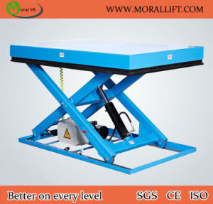 Portable Scissor Design Hydralic Driven Lift Table pictures & photos