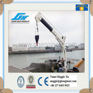 10t12m Electric Winch Hoisting Crane pictures & photos
