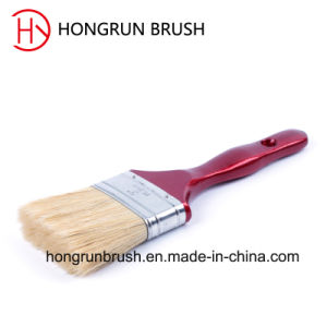 Wooden Handle Bristle Paint Brush (HYW033) pictures & photos