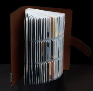 PU Leather Card Holder Books, Card Hloder Books (C41) pictures & photos