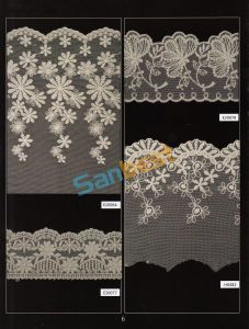 Fashion Designs High Quality Beautiful Mesh Lace for Coat pictures & photos