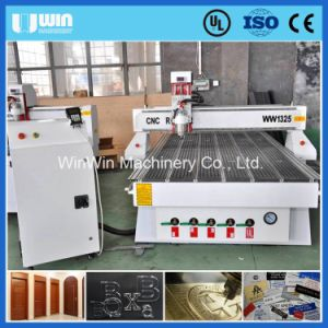 Wood Alumium Brass Big Power Ww1325W CNC Router Cutting Machinery pictures & photos